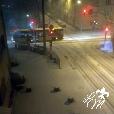 Wenn Stadtkinder Schnee sehen