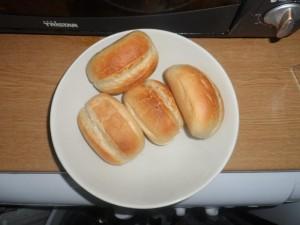 Mit den Zwerg frühstücken