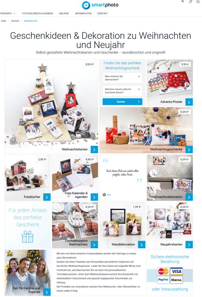 [Werbung] Persönliche Weihnachtsgeschenke von Smartphoto.de