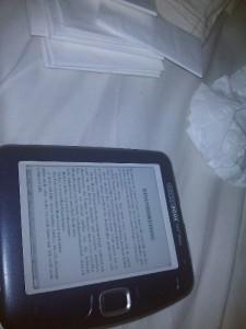 Noch was Lesen im warmen Bett bevor ich aufstehe