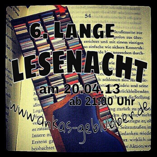 6. Lange Lesenacht